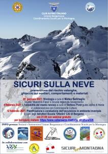 CAI Bergamasco - Sicuri sulla neve 2021